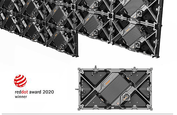 DESAY TRB Series fine pitch rental LED Panels won the 2020 German Red Dot Desi